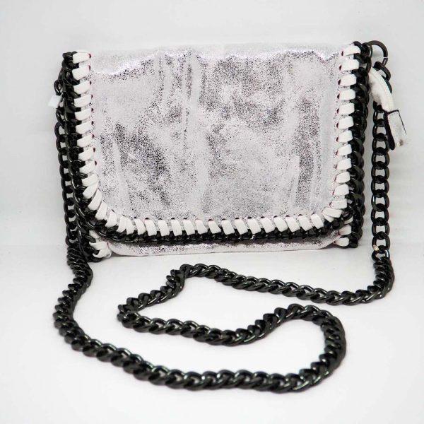 Bolso con cadenas mediano
