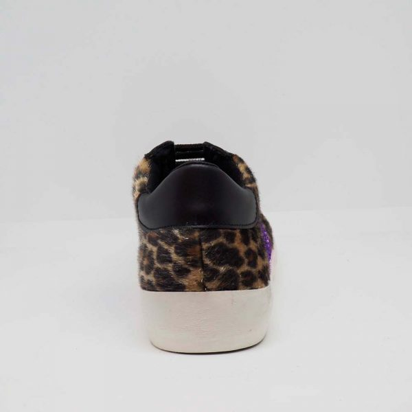 Sneaker leopardo para mujer