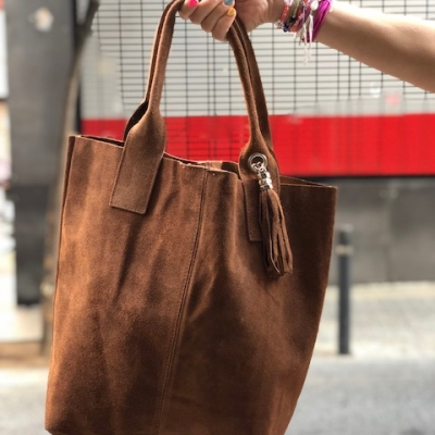 BOLSO 'SACO LEATHER'