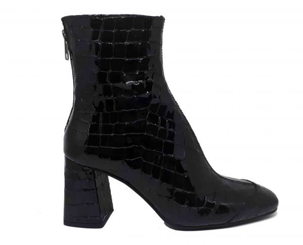 COCO ZIPPER ANKLE BOOTS
