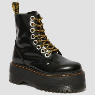 LEATHER BOOT DR MARTENS