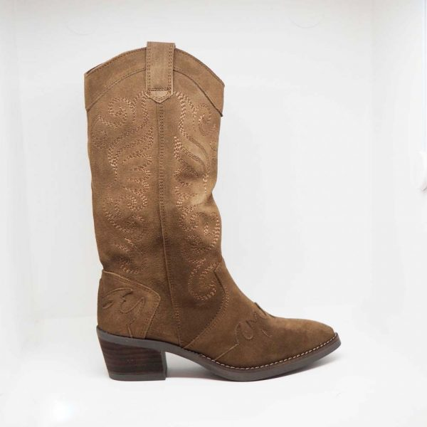Bota cowboy mujer
