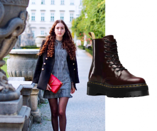 look dr martens cherry