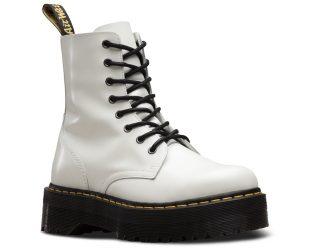 bota blanca dr martens