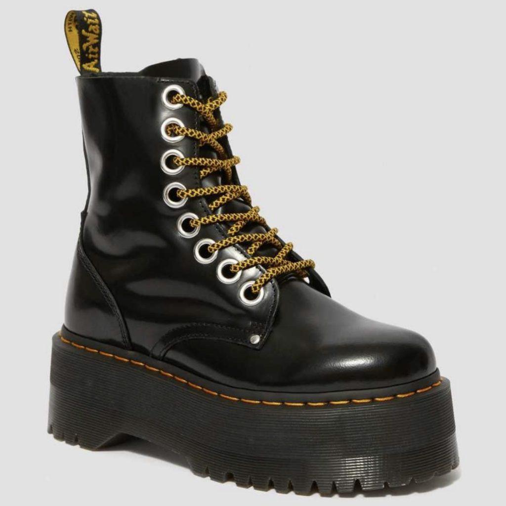 botas con plataforma dr martens