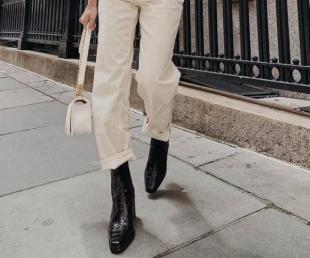 botas negras outfit