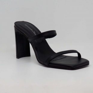 Sandalia negra de fiesta Alessandro Simoni