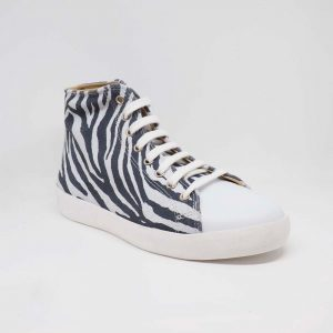 bambas tipo zebra - SNEAKER ANIMAL PRINT