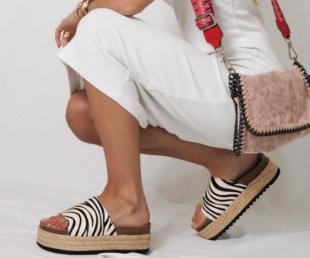 sandalia moderna