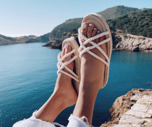 sandalias planas mujer verano
